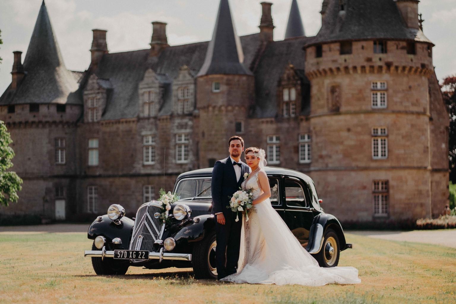 mariage au chateau de bonnefontaine