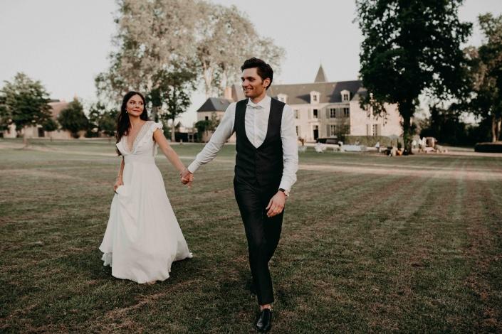 mariés et photographe une relation