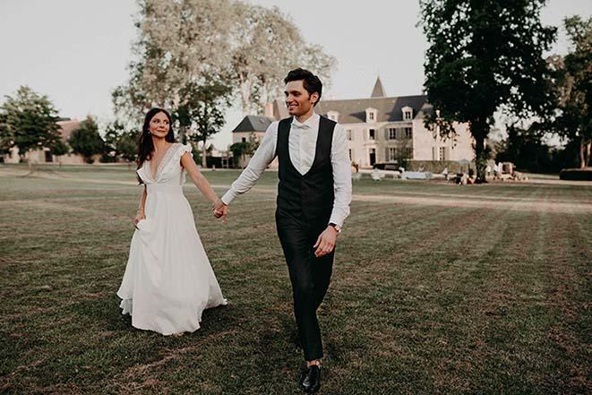 photographe et mariés une relation